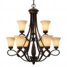 Golden Lighting - 8106-9 - Torbellino - Nine Light Chandelier