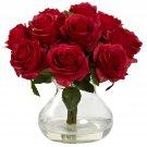 Red Rose Arrangement w/Vase