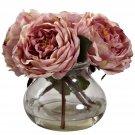 Pink Fancy Rose w/Vase