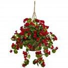 Geranium Hanging Basket UV Resistant (Indoor/Outdoor)