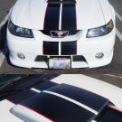 "MUSTANG ROUSH 8"" Racing Rally Stripes PLUS Pinstripes"