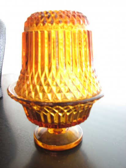 Amber Fairy Lamp-Bell Shaped
