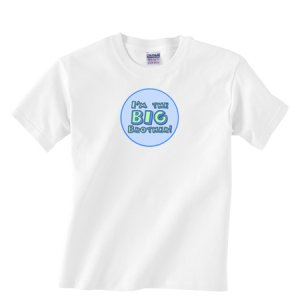I'm the BIG BROTHER!  Custom Boutique Toddler T-Shirt for Boys