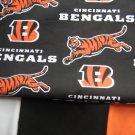 Cincinnati Bengals NFL Custom Made Medical Scrub Top