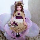 "Lovely 31/4"" Miniature (OOAK) Artist Dollhouse doll"