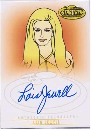 Star Trek Art & Images A35 Lois Jewell - Drusilla auto card