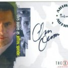 X-Files Connections A5 Chris Owens - Spender auto card
