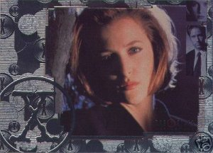 X-Files Connections P-FOA promo card