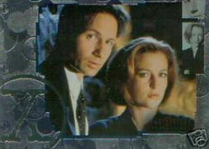 X-Files Connections P-1 promo card