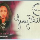 Witchblade TV Show A1 Yancy Butler - Sara Pezzini auto card