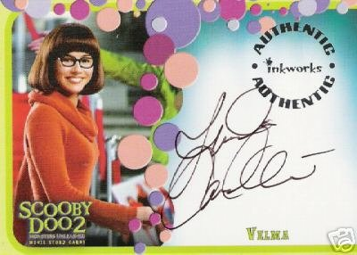 Scooby Doo 2 Monsters Unleashed A2 Linda Cardellini - Velma auto card