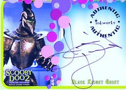 Scooby Doo 2 Monsters Unleashed A8 Kevin Durand - Black Knight Ghost auto card
