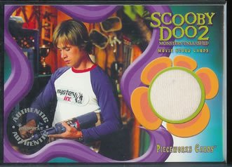 Scooby Doo 2 Monsters Unleashed PW2 Freddie Prinze Jr - Fred T-Shirt Pieceworks insert card