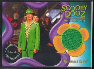 Scooby Doo 2 Monsters Unleashed PW4 Matthew Lillard - Shaggy Pants Pieceworks insert card