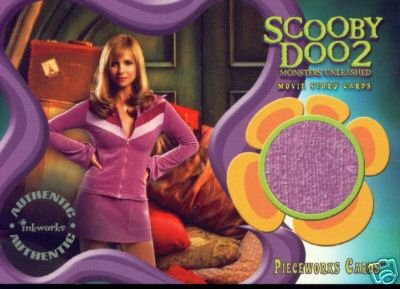 Scooby Doo 2 Monsters Unleashed PW9 Sarah Michelle Gellar - Daphne Jacket Pieceworks insert card