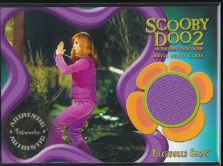 Scooby Doo 2 Monsters Unleashed PW10 Sarah Michelle Gellar - Daphne Pants Pieceworks insert card