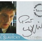 Catwoman movie A7 Peter Wingfield - Dr. Slavicky auto card