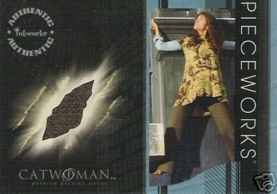 Catwoman movie PW12 Halle Berry - Patience Philips Pants Pieceworks insert card