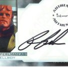 Hellboy movie A1 Ron Perlman - Hellboy auto card