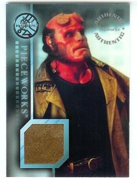 Hellboy movie PW1 Ron Perlman - Hellboy Leather Coat Pieceworks insert card