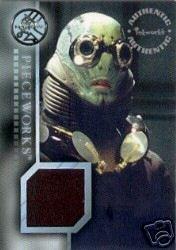 Hellboy movie PW5 Doug Jones - Abe Sapien Top Pieceworks insert card