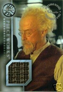 Hellboy movie PW8 John Hurt - Professor Broom Vest Pieceworks insert card