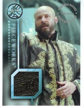 Hellboy movie PW9 Karel Roden - Grigori Rasputin Vest Robe Pieceworks insert card