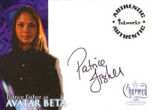 Charmed Conversations A8 Patrice Fisher - Avatar Beta auto card