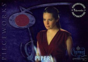Charmed Conversations PWCC2 Holly Marie Combs - Piper Top Pieceworks insert card