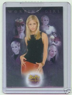 Buffy Women of Sunnydale WOS CL1 Casel Loader Topper insert card