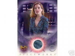 Buffy Women of Sunnydale WOS PW3 Emma Caulfield - Anya Dress Pieceworks insert card