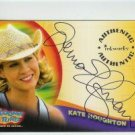 Looney Tunes Back In Action BIA A2 Jenna Elfman - Kate Houghton auto card