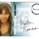 Lost season 3 A29 Marsha Thomason - Naomi Dorrit auto card