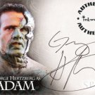 Spike the Complete Story A7 George Hertzberg - Adam auto card