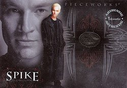 Spike the Complete Story PW2 James Marsters - Spike Leather Coat Pieceworks insert card