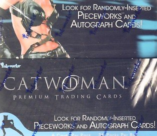 Catwoman movie trading cards - Factory Sealed Box - 36 packs