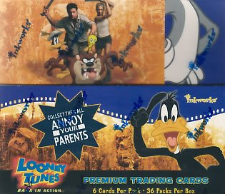 Looney Tunes Back in Action BIA trading cards - Factory Sealed Box - 36 packs