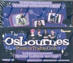 The Osbournes TV Show trading cards - Factory Sealed Box - 36 packs