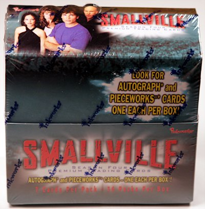 Smallville season 4 trading cards - Factory Sealed Box - 36 packs