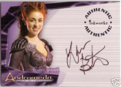 Andromeda Reign of the Commonwealth A5 Laura Bertram - Trance Gemini auto card