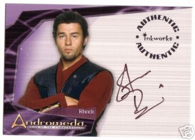 Andromeda Reign of the Commonwealth A6 Steve Bacic - Rhade auto card