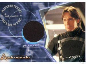 Andromeda Reign of the Commonwealth PW5 Kevin Sorbo - Dylan Hunt Jacket Pieceworks insert card