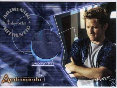 Andromeda Reign of the Commonwealth PW7 Gordon Michael Woolvett - Harper Shirt Pieceworks card