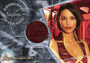 Andromeda Reign of the Commonwealth PW9 Lexa Doig - Rommie Top Pieceworks insert card