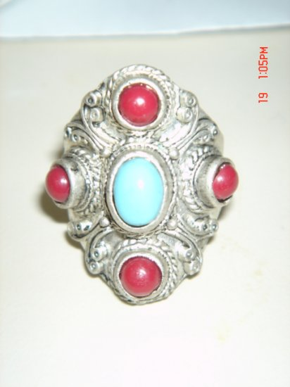SILVER MANS RING