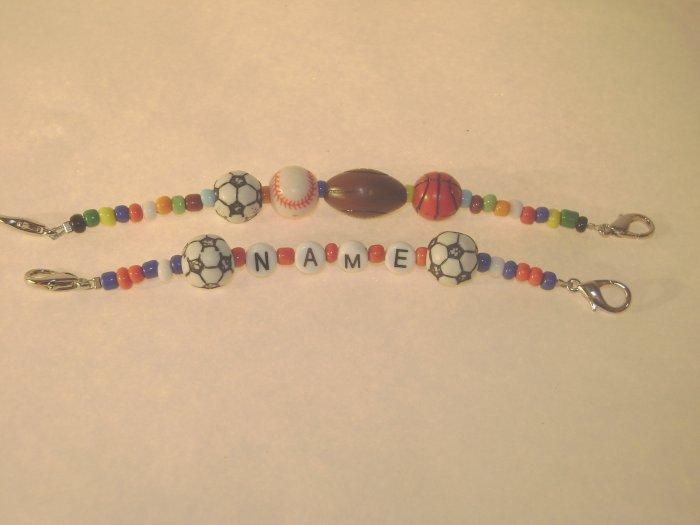 Custom Children's Sports Medical I.D. Alert Replacement Bracelet