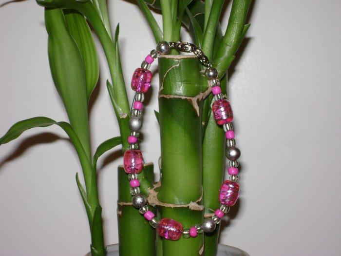 Hot Pink Medical Alert I.d. Replacement Bracelet