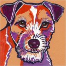 """Jack Russell Terrier"" Watercolor Painting Print"