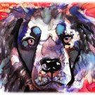 """Border Collie"" Watercolor Painting Print"