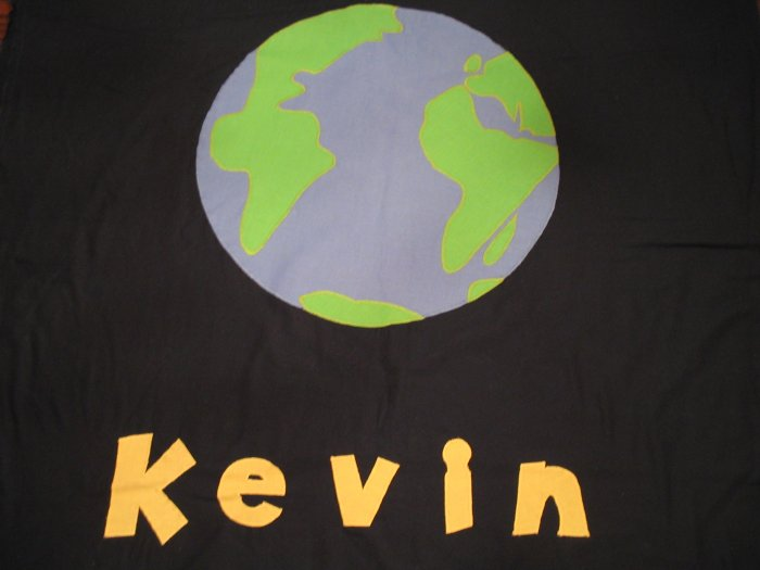 Personalized World 100% Cotton Quilt KEVIN **JUST REDUCED